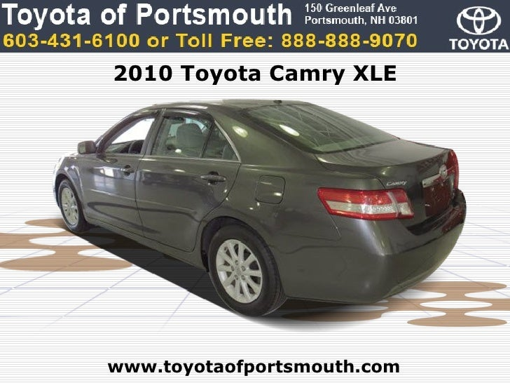Used Toyota Camry XLE Portsmouth NH Toyota Dealer - Toyota dealer nh