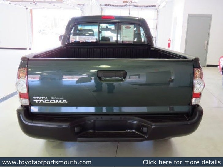 2010 Toyota Tacoma Regular Cab - Portsmouth NH Toyota Dealer