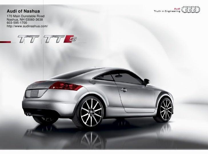 2010 Audi Tt Tts Audi Of Nashua Nh