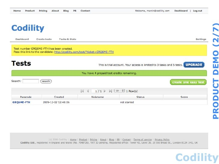 Codility Demo Test Solution Python