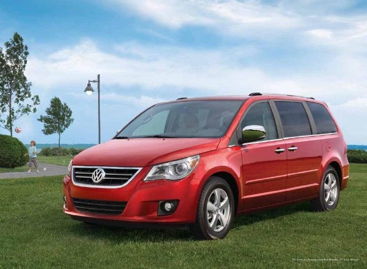 2010 Volkswagen Routan Brochure - Greenville Columbia SC