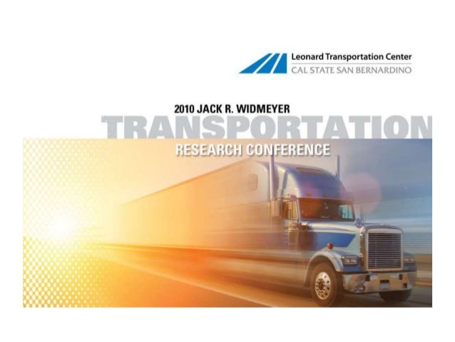 Inland Empire Clusters of Opportunity Project Transportation/Logistics ACTION PLAN HIGHLIGHTS