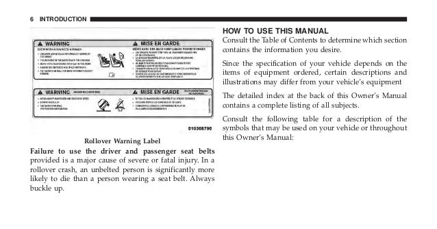 2010 Wrangler Owners Manual- www.thejeepstore.com