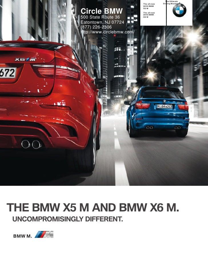 2010 BMW X6 M Circle BMW NJ