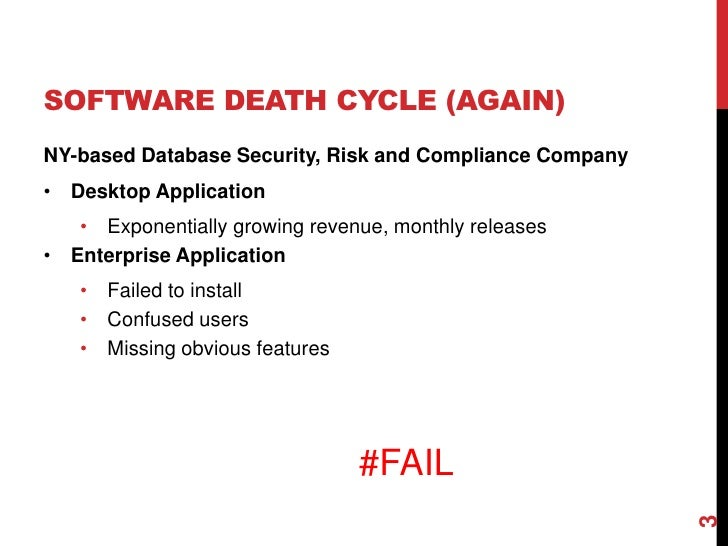 Breaking the Software Death Cycle with Domain-Driven Design Slide 3