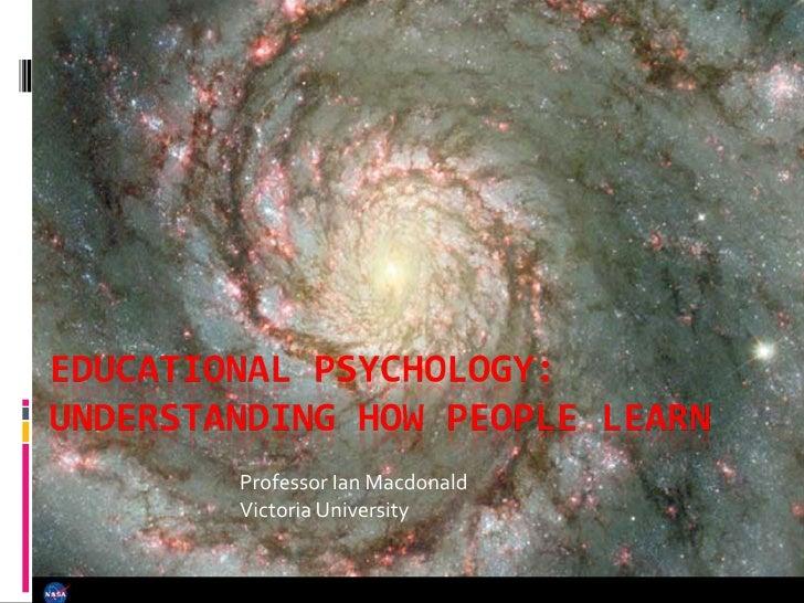 Professor Ian Macdonald Victoria University