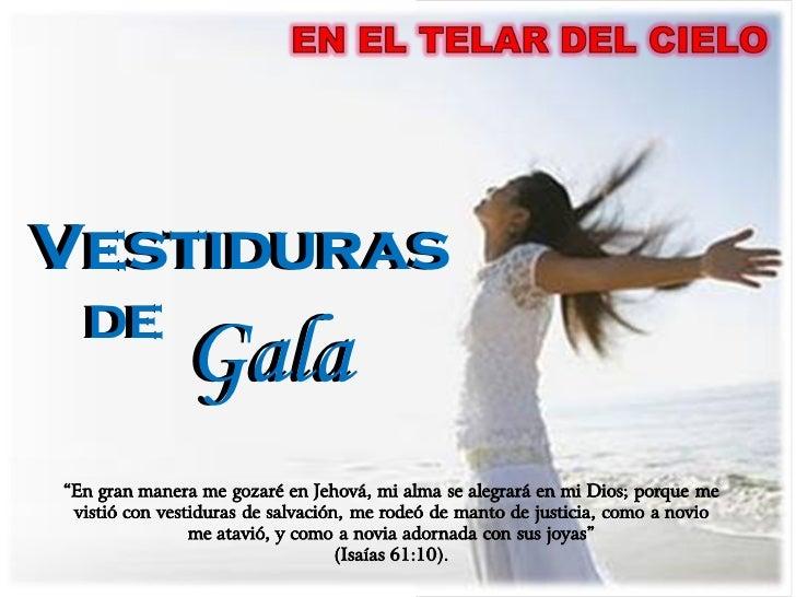DE Gala Vestiduras DE Gala Vestiduras