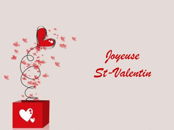 Joyeuse<br />St-Valentin<br />