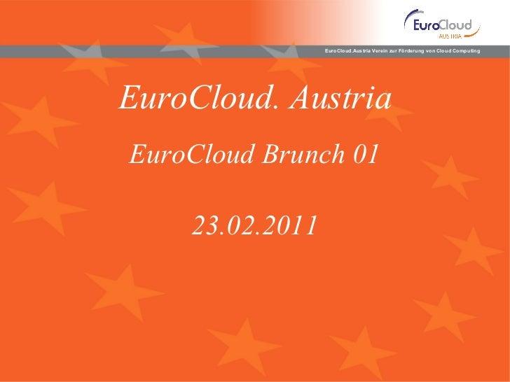 EuroCloud. Austria EuroCloud Brunch 01 23 .02.2011