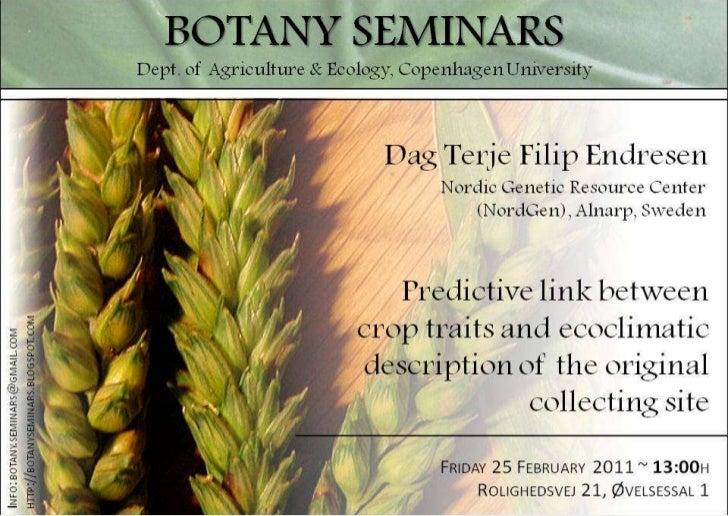 Botany Seminar on trait data mining using FIGS, Copenhagen (25 Feb 2011)