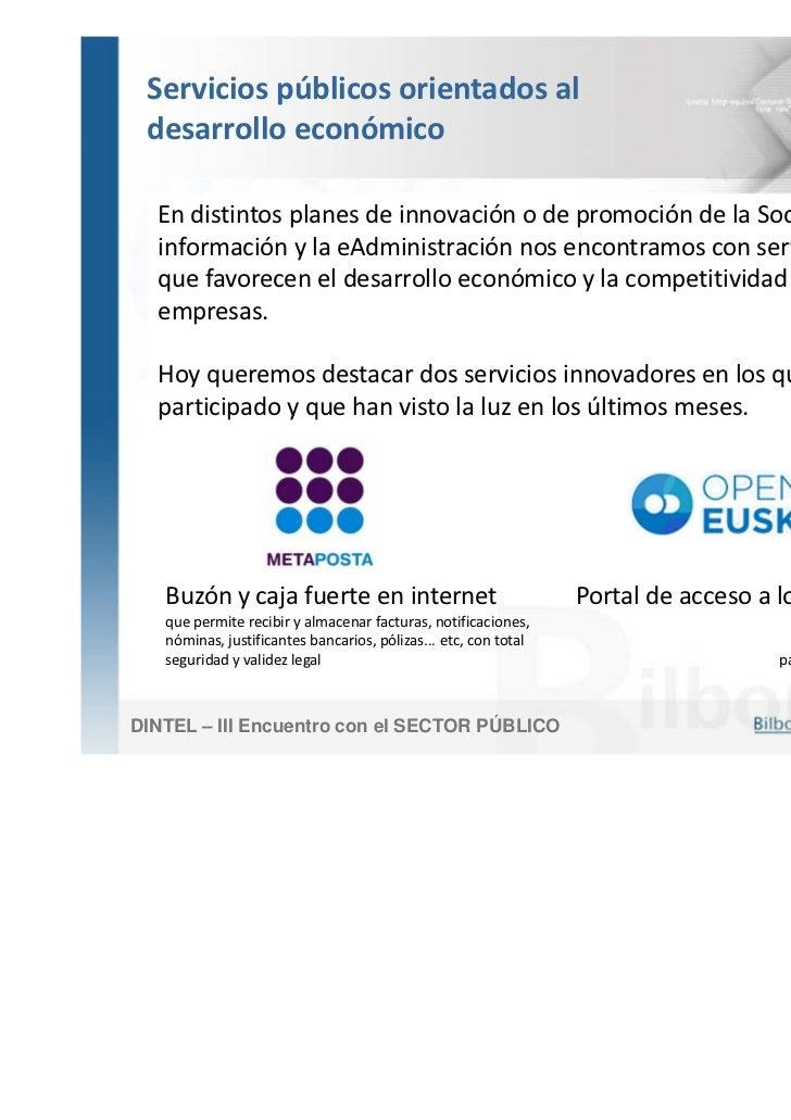 Ponencia de bilbom tica en el congreso dintel encuentro - Caja madrid oficina internet ...