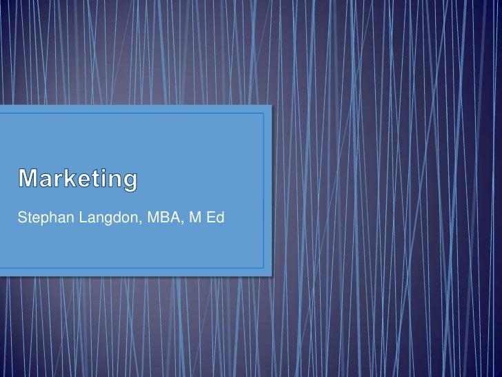 2011.03 Marketing