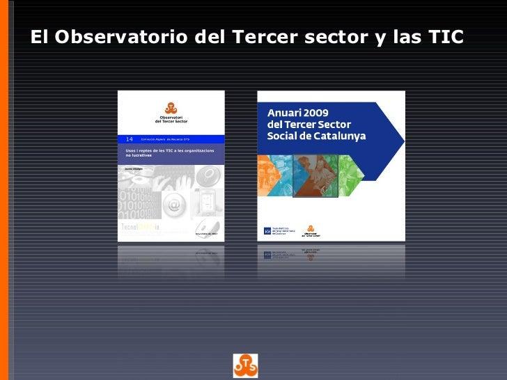 2011 04 Las organizaciones sociales en el mundo 2.0 - Sandra Güell Slide 2