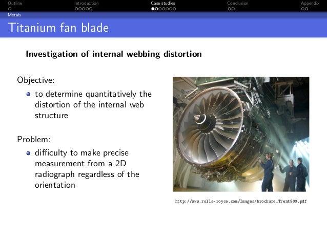 Outline               Introduction         Case studies                     Conclusion                     AppendixMetalsT...