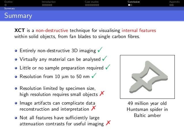 Outline                Introduction        Case studies           Conclusion            AppendixSummarySummary          XC...