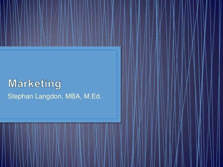 Marketing 2011.04