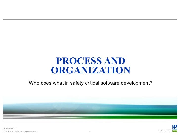software testing in safety critical systems Dunng the testing of a safety-critical software system difficulties with requirements have been repeatedly implicated as a source of both testing defects [2, 7] and.