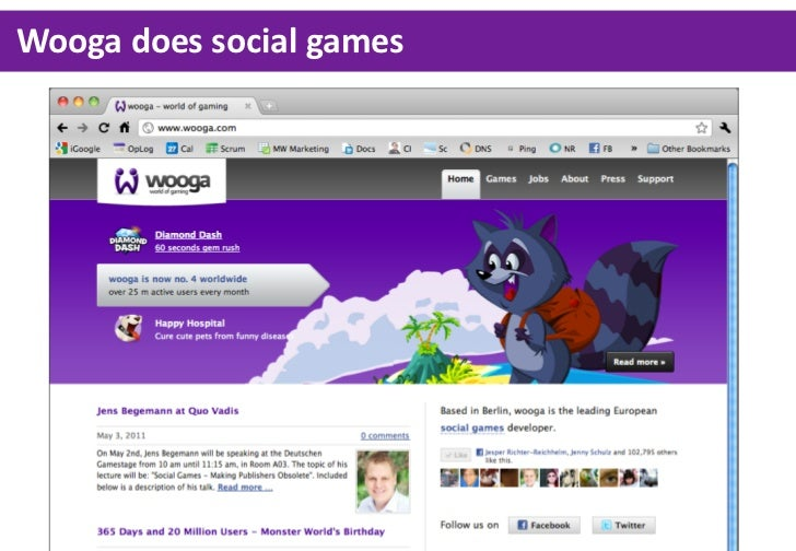 Wooga does social games