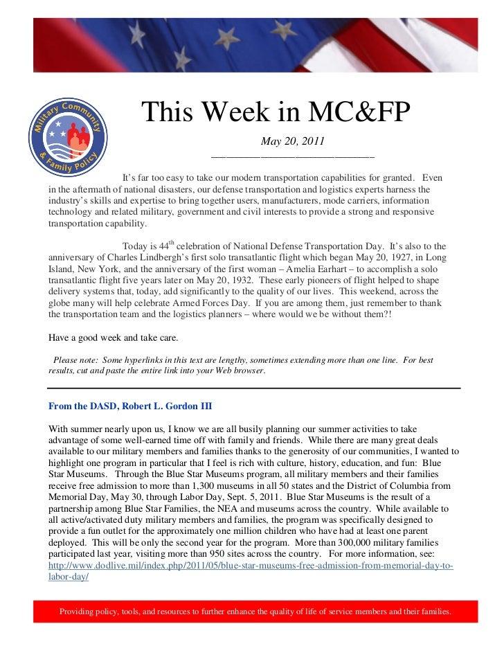 http://www.health.mil/blog/10-06-24/Family_Resiliency_Webinar.aspx.                           This Week in MC&FP          ...