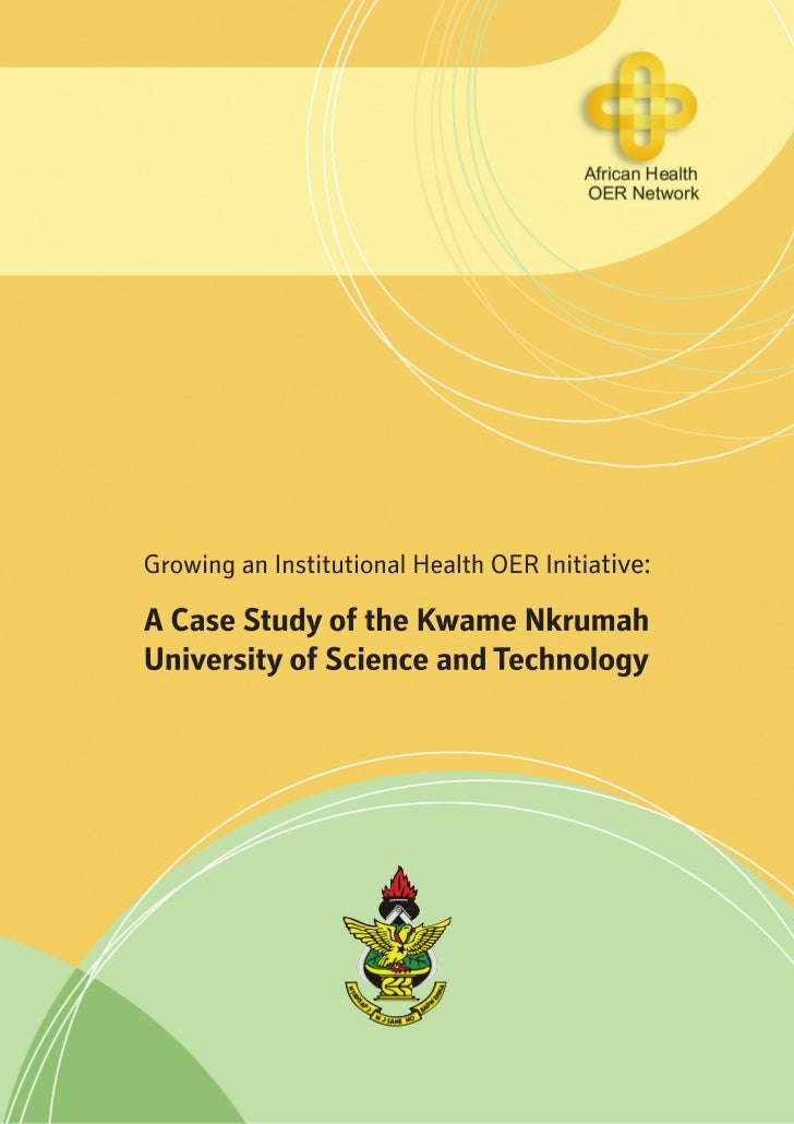 Health OER Case Study - Kwame Nkrumah University of Science and Technology