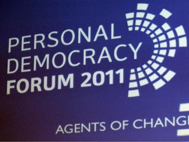 User Driven Democracy @dsearls