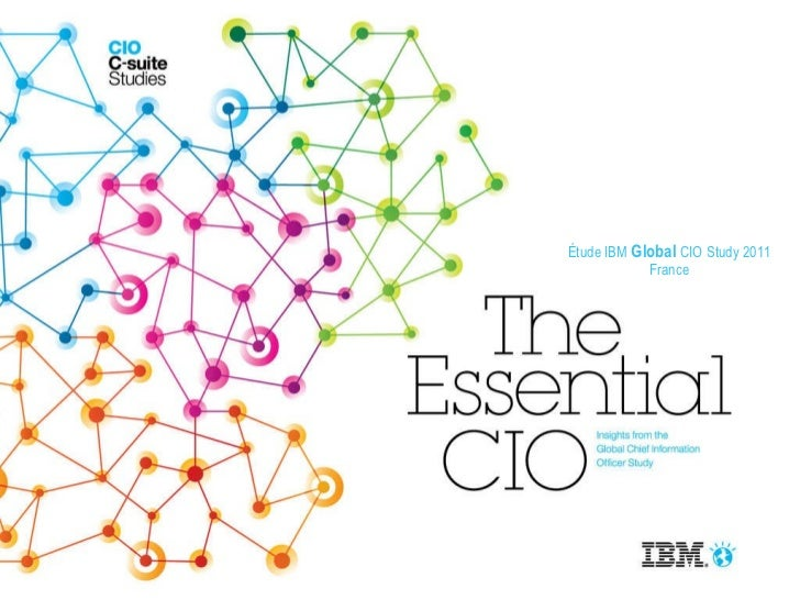 Étude IBM  Global  CIO Study 2011 France