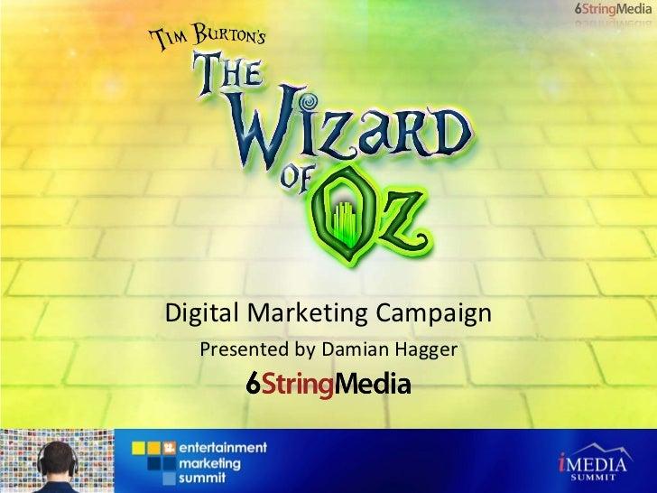 Digital Marketing Campaign Presented by Damian Hagger