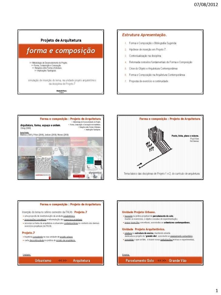 2011.06 subst faurb forma e composição arquitetura contemporânea2
