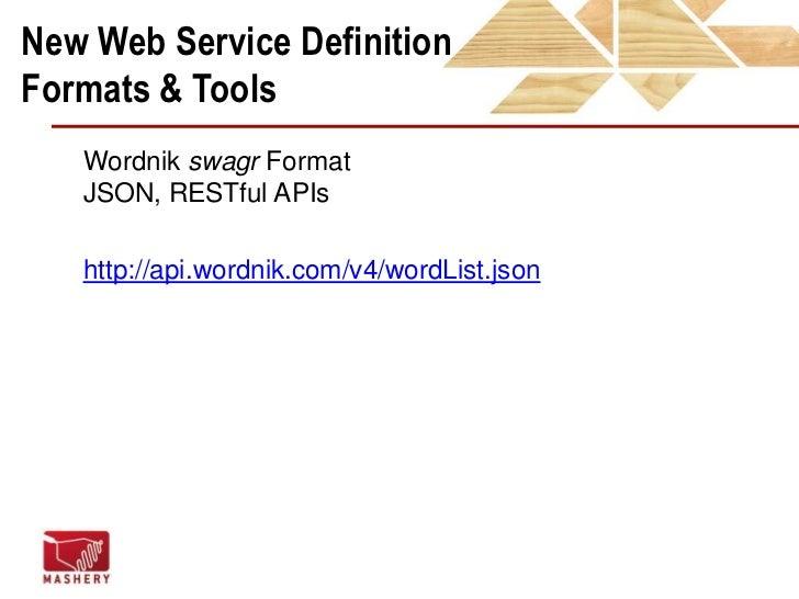 Good API Docs<br />http://www.flickr.com/photos/scorpio58/4067099731/<br />