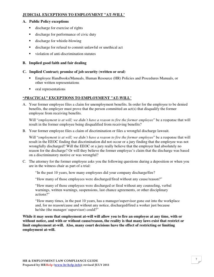 employment law implied terms essay