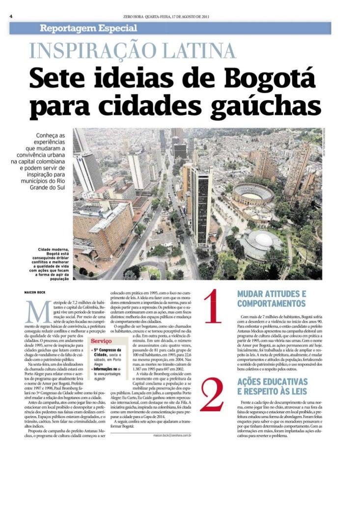 7 idéias de bogotá para cidades gaúchas