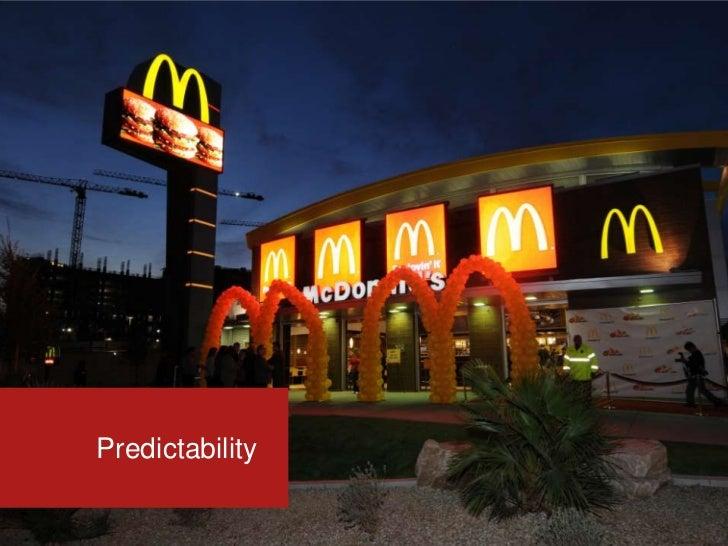 Predictability<br />
