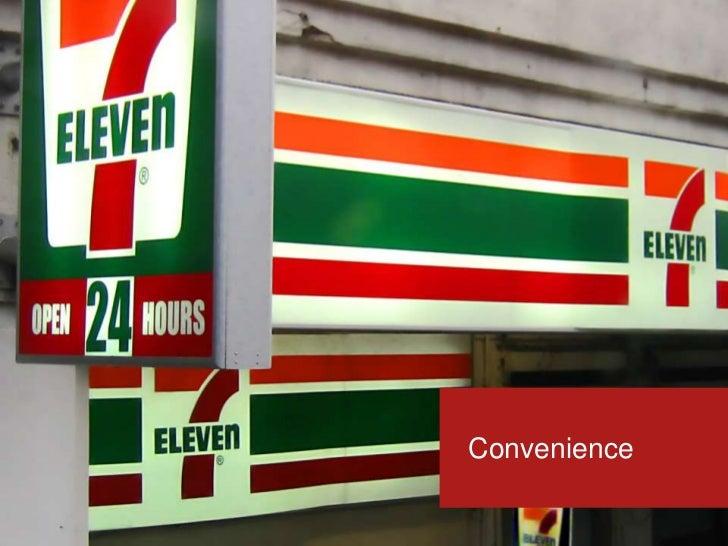 Convenience<br />