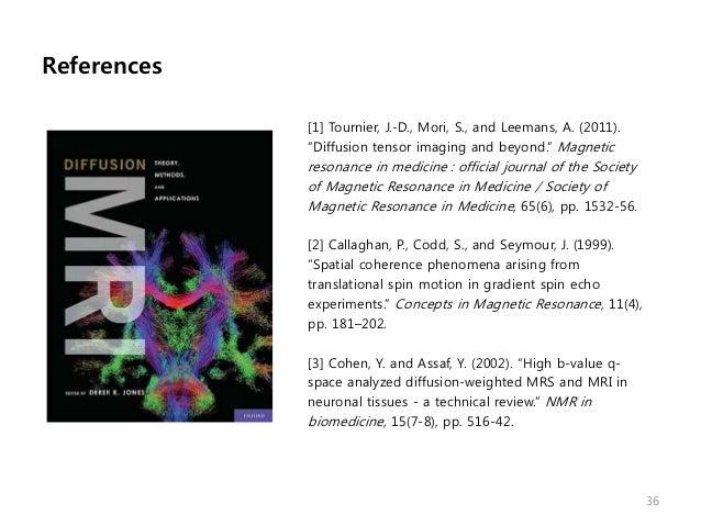 diffusion tensor imaging  2011