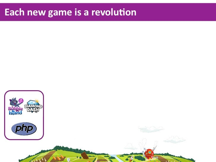 Each new game is a revoluKon