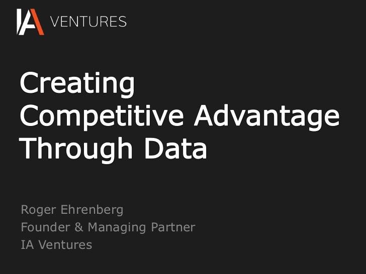 Roger EhrenbergFounder & Managing PartnerIA Ventures