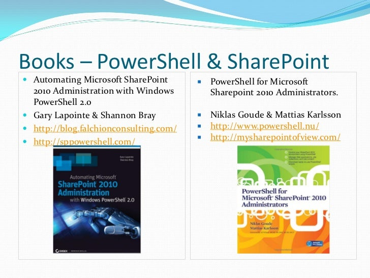 Learn to Work with SharePoint PowerShell Objects and ...