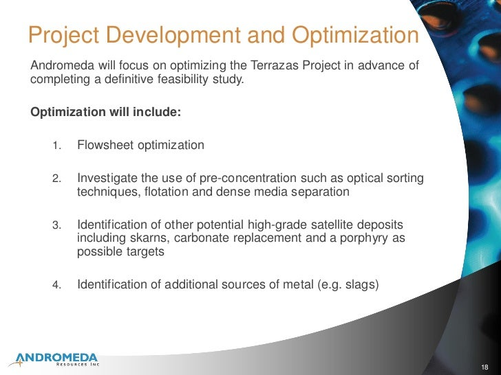 Andromeda Resources Inc Corporate Presentation