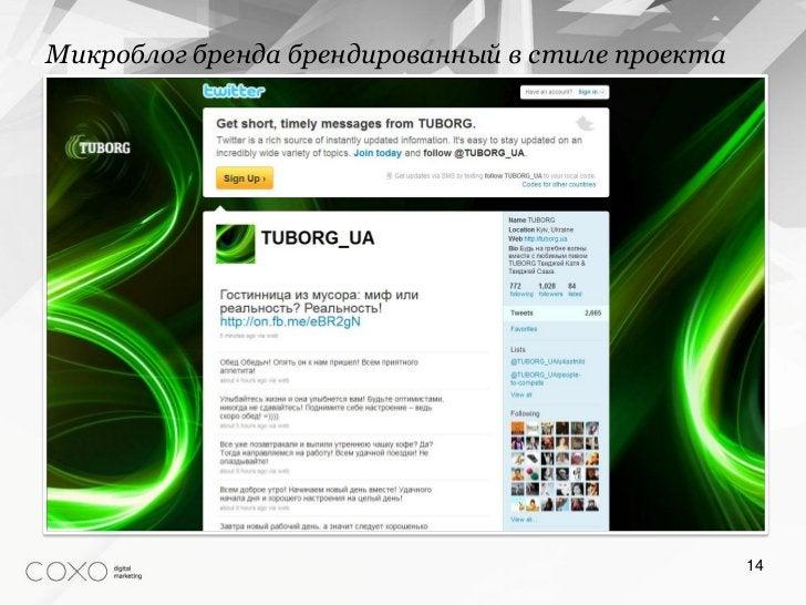 Микроблог бренда брендированный в стиле проекта                                                  14