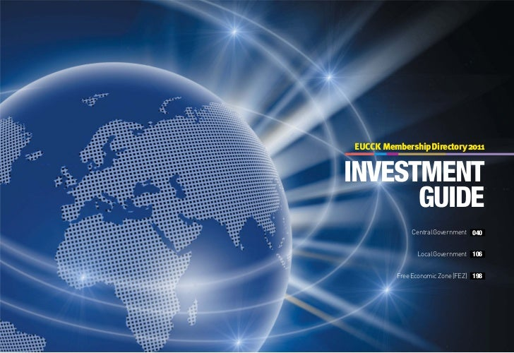 EUCCK Membership Directory 2011INVESTMENT      GUIDE              Central Government 040                Local Government 1...