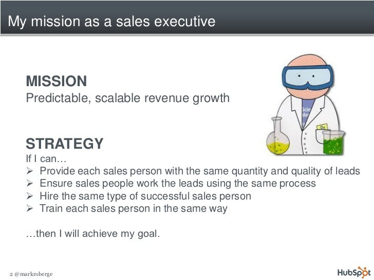 2011 12-01 how to achieve predictable scalable revenue growth v1 Slide 2