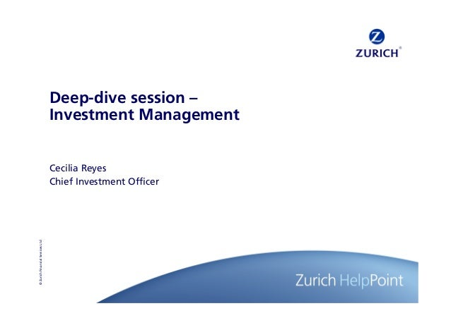 Deep-dive session –                                  Investment Management                                  Cecilia Reyes ...