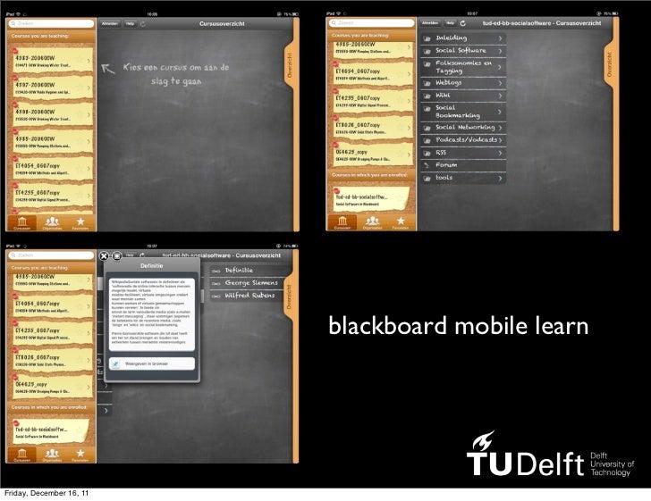 blackboard mobile learnFriday, December 16, 11