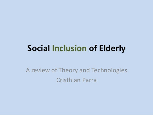 social inclusion essays Inclusion encourages social integration and pupils also make much progress on standardized measures of the language, cognitive, motor and social development families also have positive attitude towards inclusion as they can witness the child's acceptance of the differences.