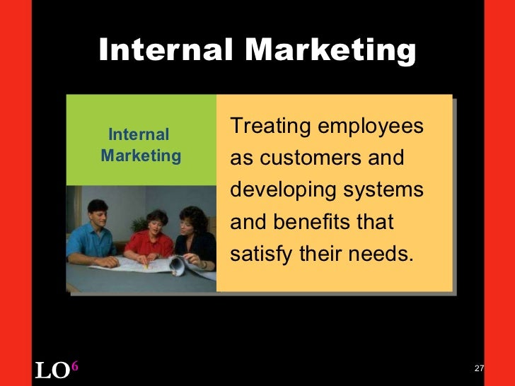 internal services marketing How can the answer be improved.