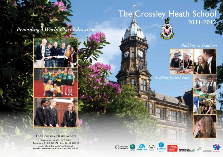 The Crossley Heath School                                                                                 2011-2012Providi...