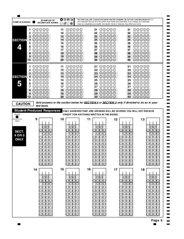 2011 2012 official sat practice test