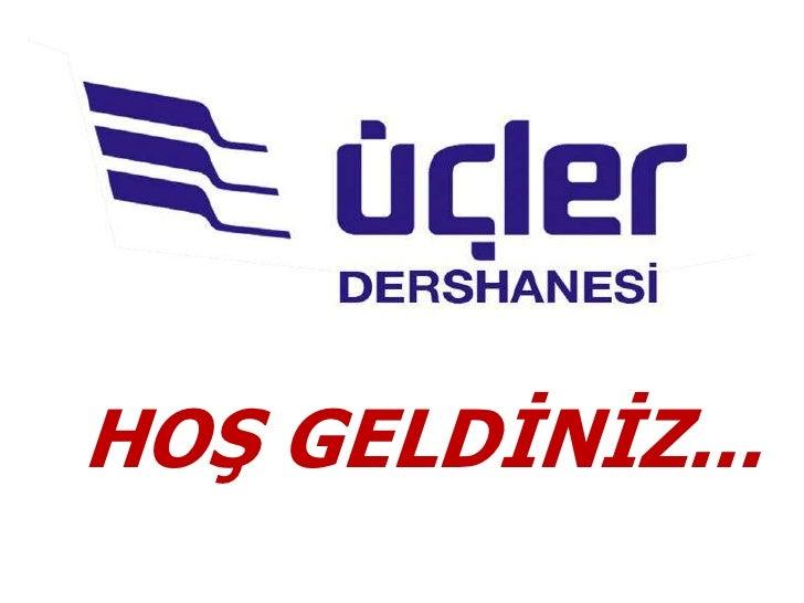 HOŞ GELDİNİZ...<br />