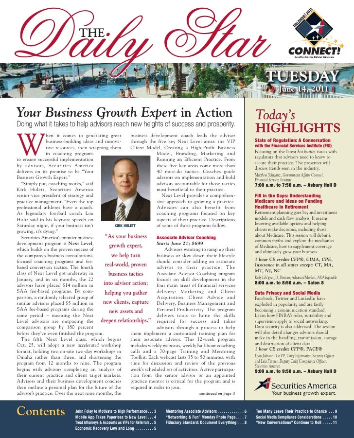 Daily Star                     THEYour Business Growth Expert in Action                                                   ...