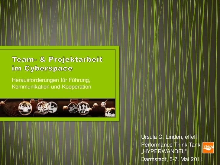 Herausforderungen für Führung,Kommunikation und Kooperation                                 Ursula C. Linden, effeff      ...